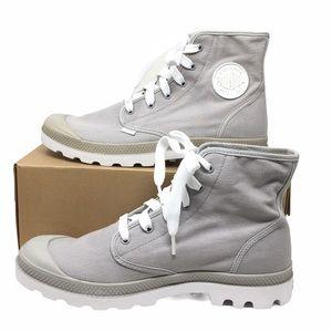 Palladium Unisex Blanc HI Charcoal Boots 10M/11.5W